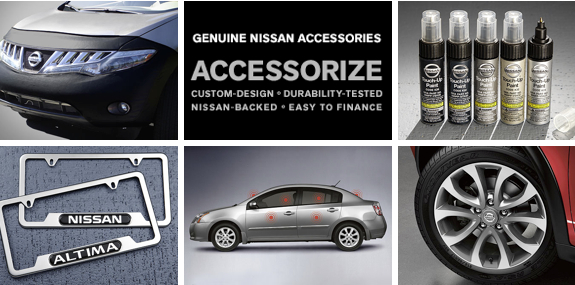 Genuine Nissan Accessories in Hilo, Big Island, Hawaii 96720
