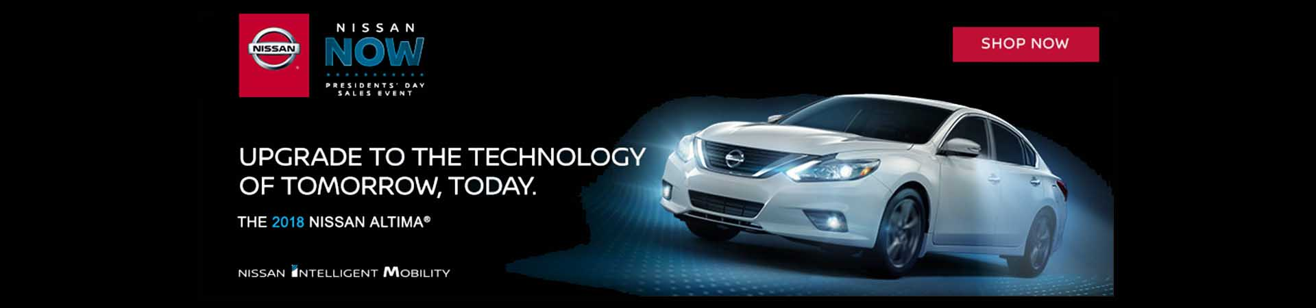 Nissan Now Presidents Day Sales Event