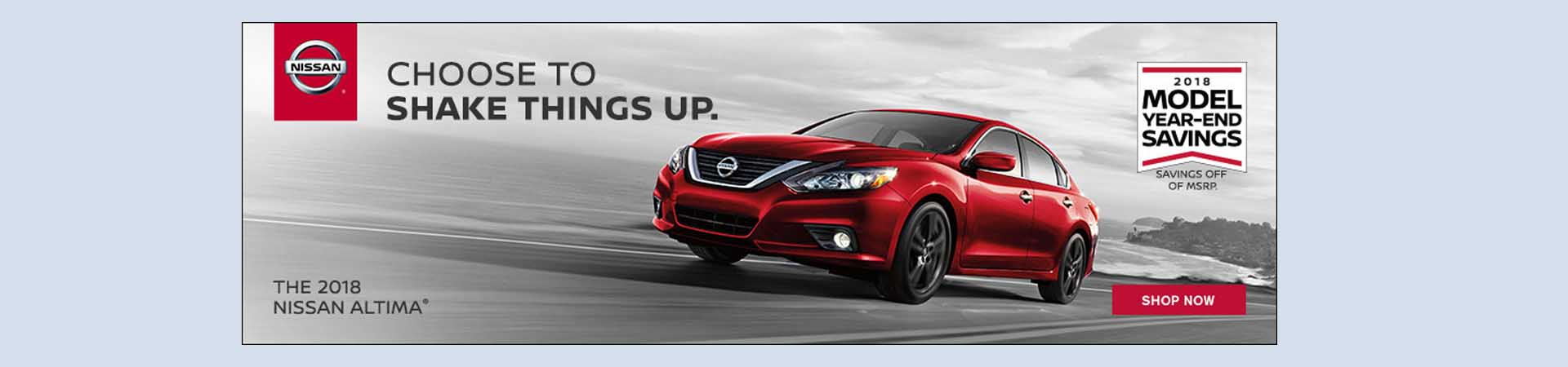 Altima Model year sales event